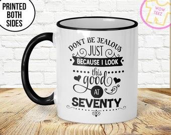 70th Mug, 70th Birthday Mug, 70th Gift Idea, 70th Birthday Gift, 1947 Birthday Mug, 70th Birthday Idea, 70 years old, Funny 70th Gift, Mug