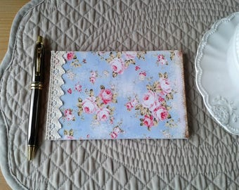 floral shabby A6 Notepad