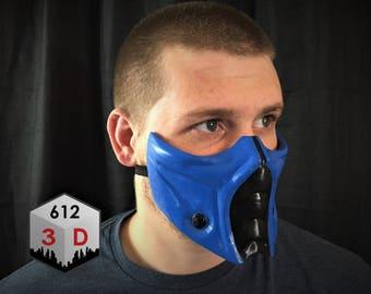 Mortal Kombat Inspired Sub Zero Mask / Cosplay / Airsoft Mask / Halloween / Costume