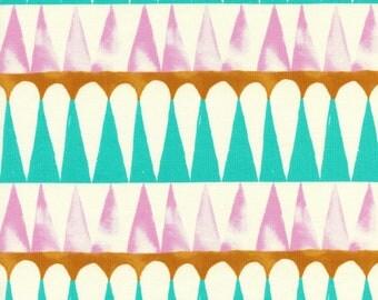 Santa Fe- Drums- Pink- Sarah Watts- Cotton + Steel