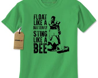 Float Like A ButterFly Muhammad Ali Tribute Mens T-shirt