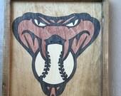 Arizona Diamondbacks Wooden Inlay Wall Art