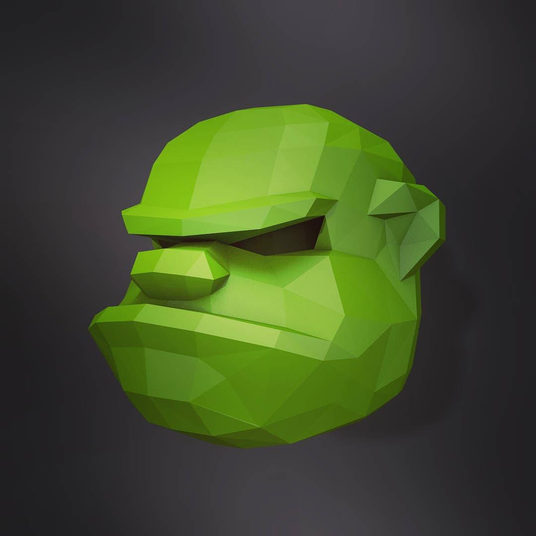 DIY Ogre Mask. | Ogre mask | Halloween Masks | papercraft ...