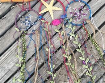Wall decor - beachy boho dream branch