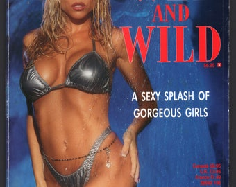 Mature Vintage Playboy Special Edition Mens Girlie Pinup Magazine : Playboy's Wet And Wild October 1996