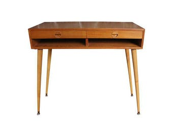 Mid-Century Danish Teak Console Table