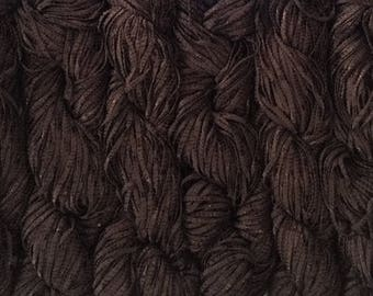 Berroco BONSAI Bamboo Yarn 9.99 + .99ea to Ship - Dark Brown 4121 Lots 2310 & 832 Matte Against Shine. Super Soft, Great Drape. Very Chic!