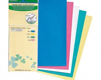 Paper to trace Clover