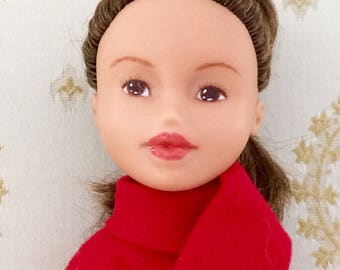 Hand Painted Doll-Upcycled Bratz
