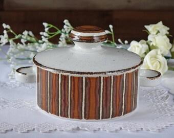 Vintage Midwinter casserole dish - Midwinter lidded casserole dish - Tureen - Vintage ceramics