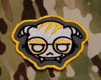 Dokkaebi Embroidered Patch Ver. 2