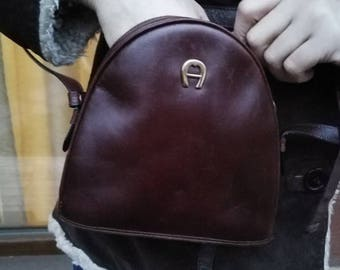Leather Bag Vintage Saddle Bag, leather Messanger,