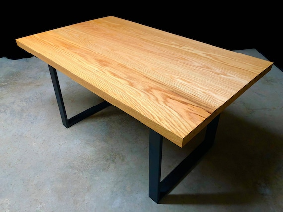 SALE! Red Oak Dining Table Ready to Ship!