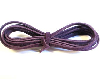 3 x 1 m purple wool cord