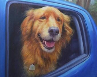 Pet Portrait Custom, From Photograph, Dog Painting, Memorial Pet Portrait, Pet Lover Gift, Custom Dog Portrait, Pet Portrait, Dog Custom