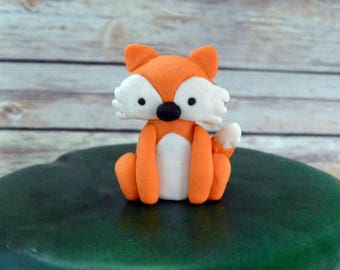 Woodland Fox Cake Topper (100% edible)