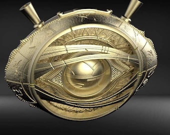 3D File - Doctor Strange Eye Of Agamotto Printing Model