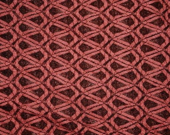 Rose Mesh Lace Stretch Apparel Fabric Soft Drape By the Yard