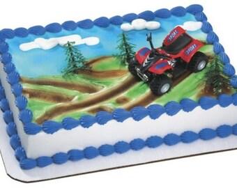 ATV 4 Wheeler Cake Topper Kit