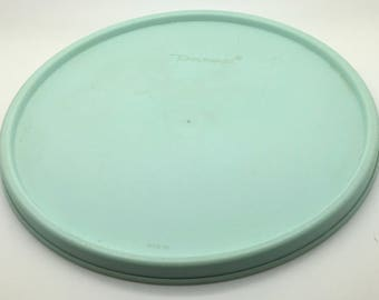 Tupperware  Seal 1702 Aqua    7 1/4 Inch Seal Fits 1701  Stack A Bowl Mixing Bowl  Lid Replacement Cover