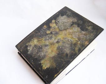 Small sketchbook or journal, artist journal, small blank book, drawing book, one of a kind handbound notebook, naturalist journal, coptic