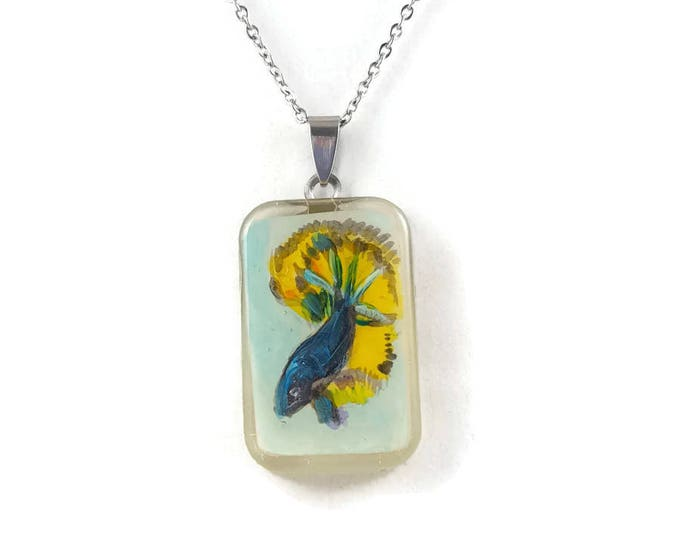 Betta Fish pendant