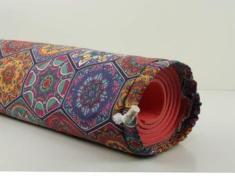 Mandala Printed Fabric Yoga Pilates Mat Bag