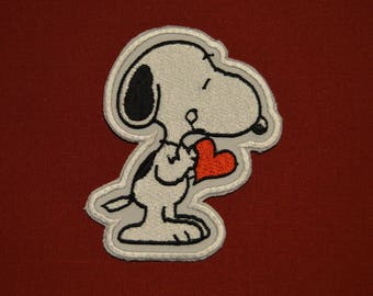 snoppy embroidered badge