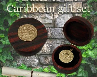 Pirates of the Caribbean (Redwood Edition), with free Aztec coin necklace