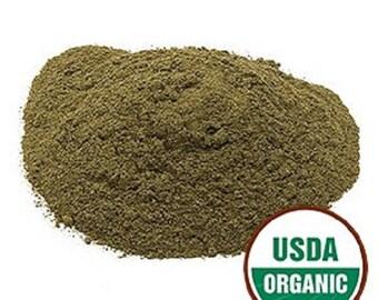Lemon Balm Leaf Powder, Organic 1 oz