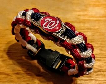 Washington Nationals Inspired Paracord Bracelet