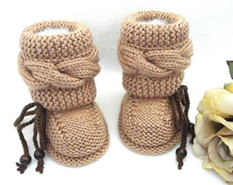 Crochet Baby Shoes Baby Booties Crochet Baby Newborn Baby Boots Knitted Baby Uggs Infant Booty Knit Baby Shower Winter Baby Booties