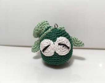 Lucky keychain owl gift idea for her and him