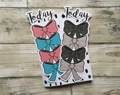 Today Bow Bookmark for Planners, Penpal and Journalling