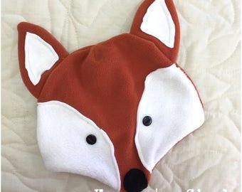 Fox Beanie, Raccoon Beanie
