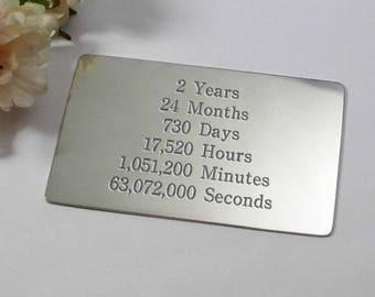 Th anniversary gift custom ten year anniversarytenth