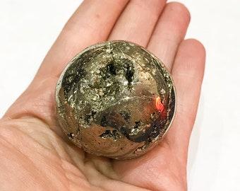 Pyrite Sphere from Peru