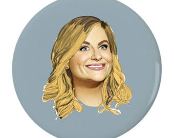 Leslie Knope 2.25inch Pin Back Button
