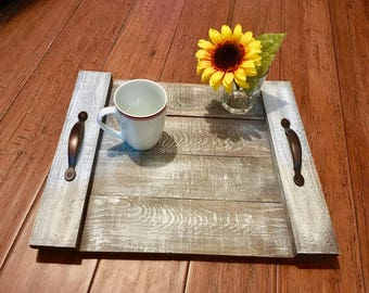 Wooden Table Tray