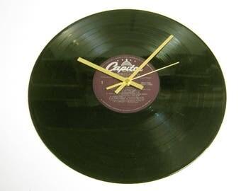 "The Beatles ""Help!"" Special Unique 12"" Vinyl Record Wall Clock Gift/Present"