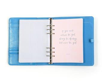 Peach - Binder / Planner / Journal / Diary / Notebook