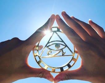 Eye of Horus Gold 24k Plated Tool