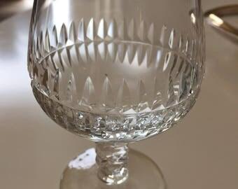 Crystal Cognac Glass