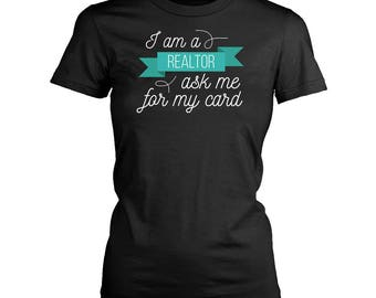 Real estate agent womens fit T-Shirt. Funny Real estate agent shirt.