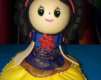 Snow White Foam Pencil Topper
