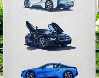 BMW i8 Painting (original)