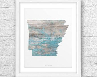 Arkansas Map, Arkansas Print, Arkansas Art, Arkansas State,Minimalist Art, Arkansas Printable,Instant Download, Arkansas Printable Wood