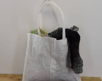Recycled Grocery Bag Tote Bag, Market Bag