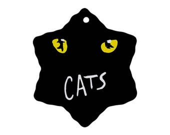 Cats Musical Christmas Ornament