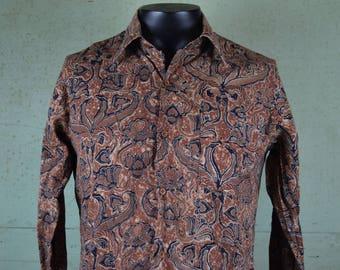 Panama shirt etsy for Men s batik bay silk blend button down shirt